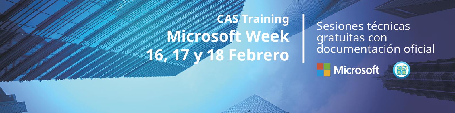 CAS Training Week