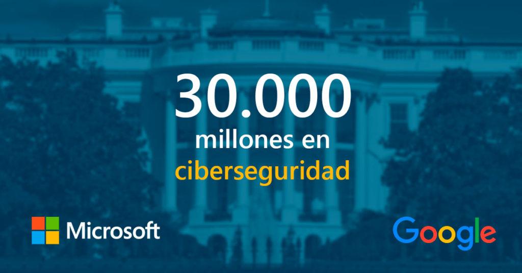 Microsoft y Google ciberseguridad