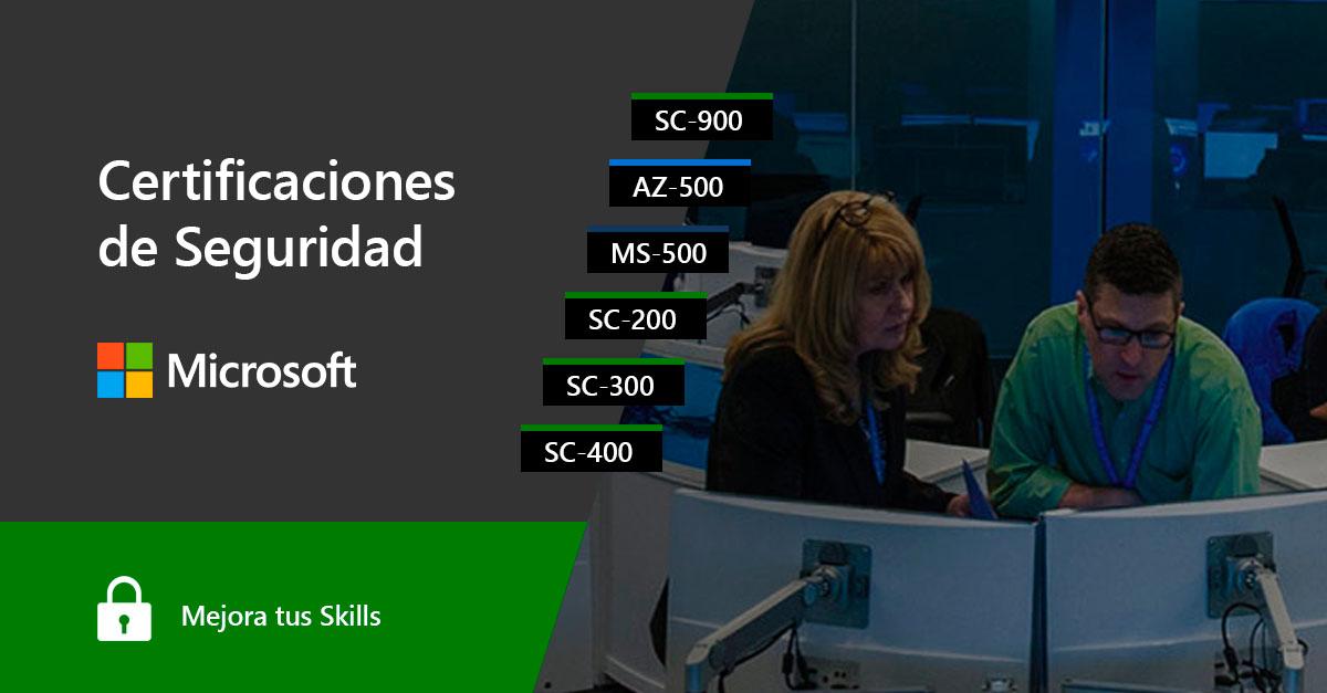 Certificaciones de Seguridad Microsoft