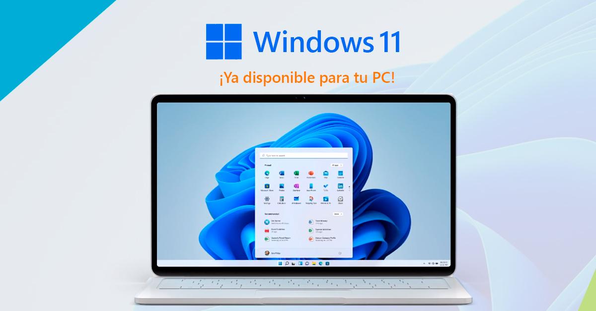 windows 11 instalación disponible